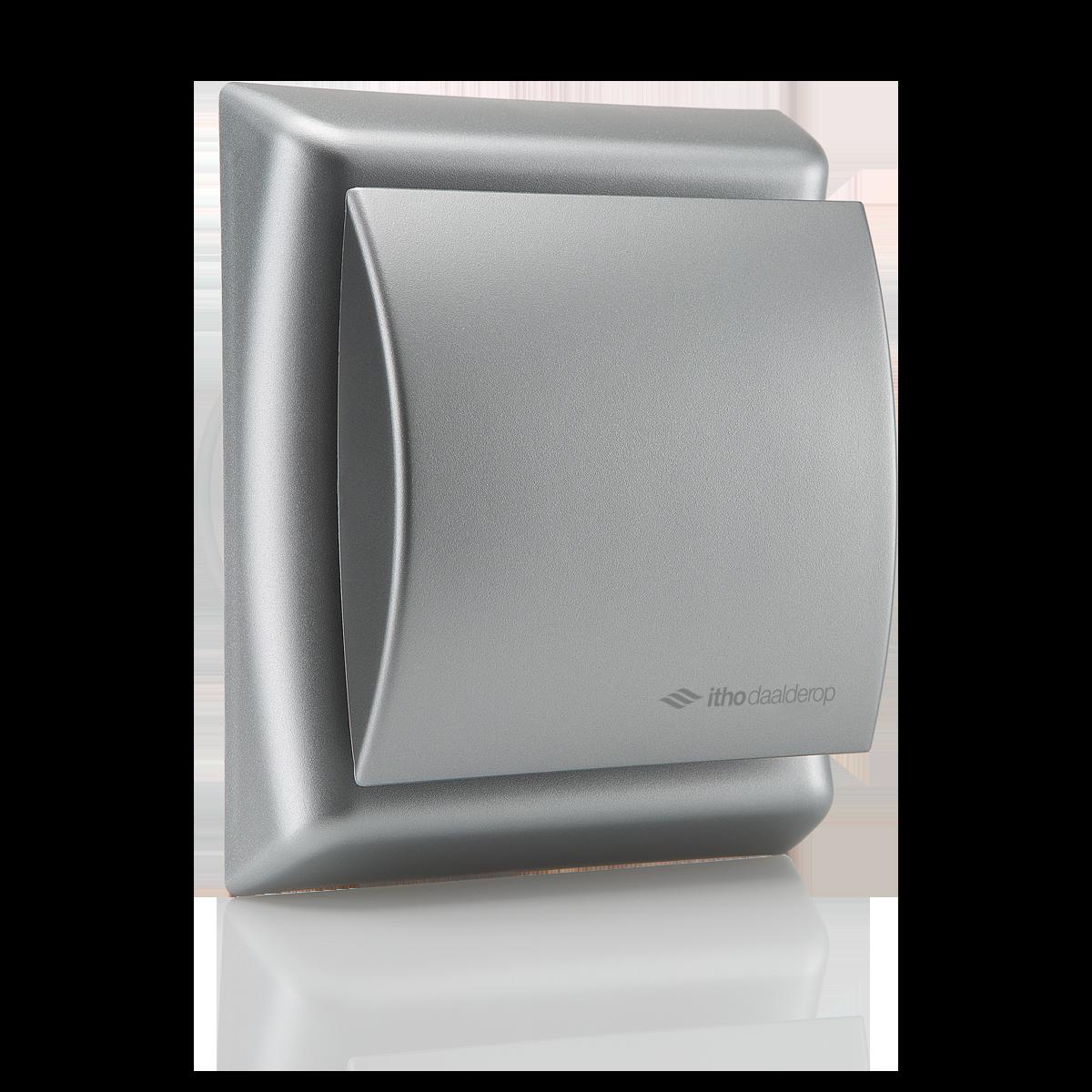 Itho Daalderop Btv Badkamer En Toilet Ventilator Mat Zilver Met Timer